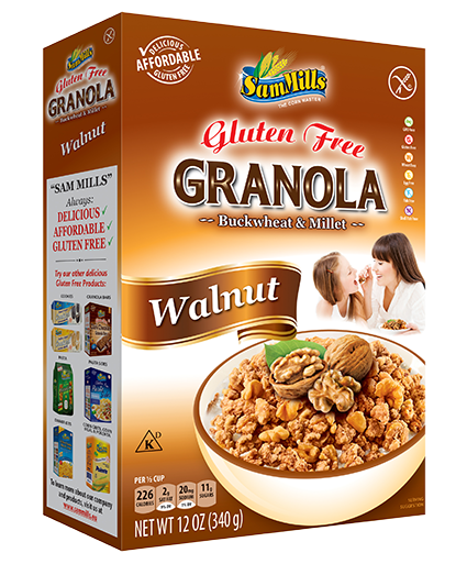 granola walnut Products Line