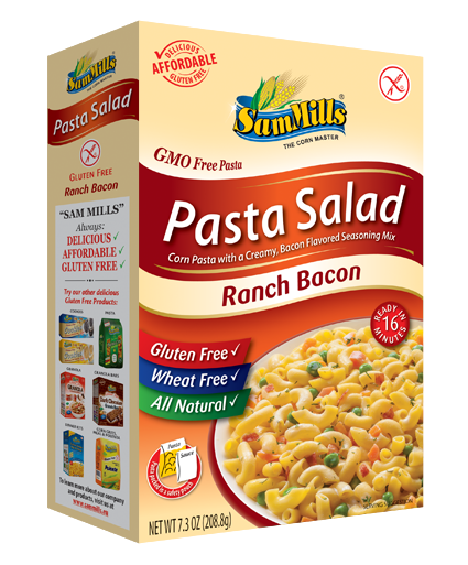 pasta salad ranch bacon Products Line