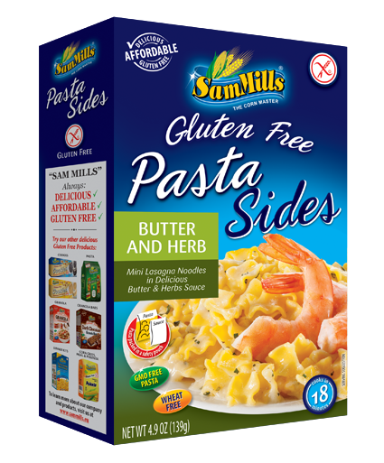 pasta sides butter herb1 Products Line