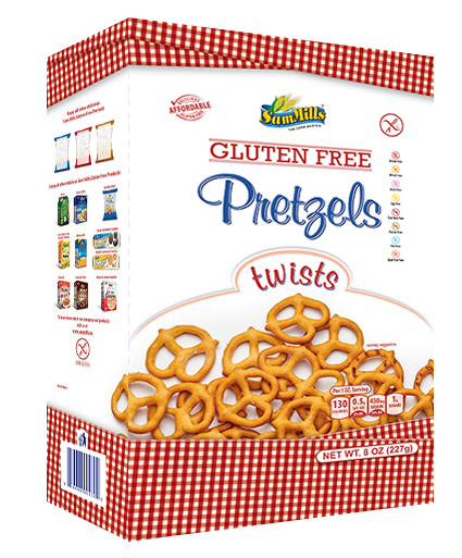 pretzels New products line