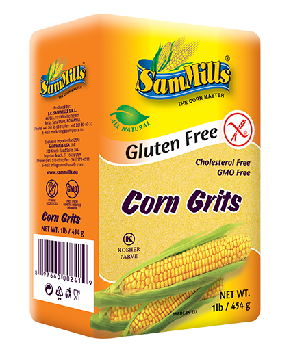 sm corn grits Products Line