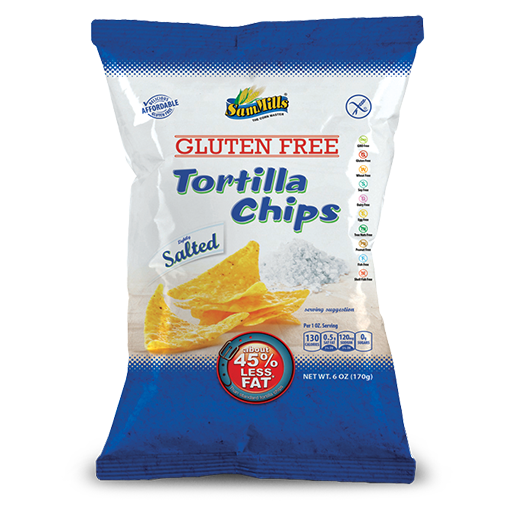 tortilla chips salted Sam Trade