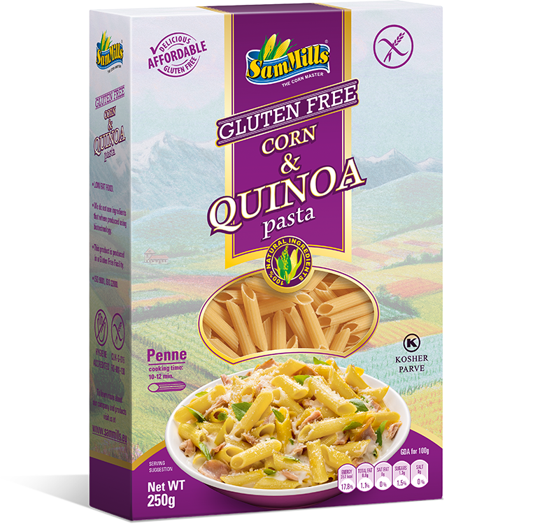 3D Quinoa penne EU Sam Trade