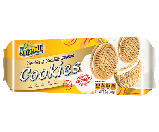 SM Sand Cookies Vanilla 300 Products Line