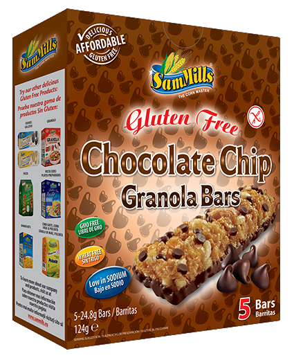 granola bars chocolate chip Sam Trade