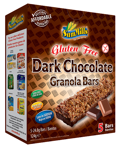 granola bars dark chocolate Products Line