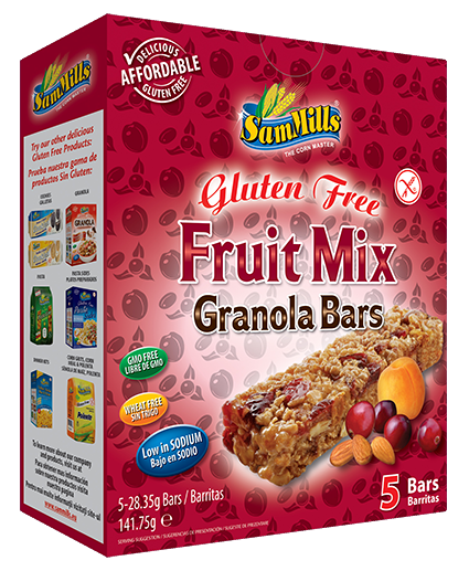 granola bars fruit mix Products Line