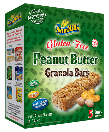 granola bars peanut butter Products Line