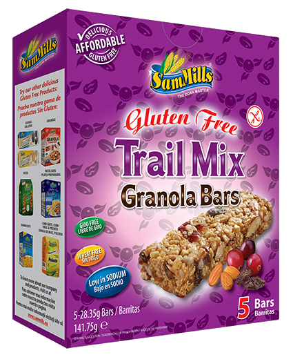 granola bars trail mix Products Line