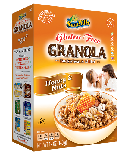 Granola SM Honey and Nuts 300 Gama Produse