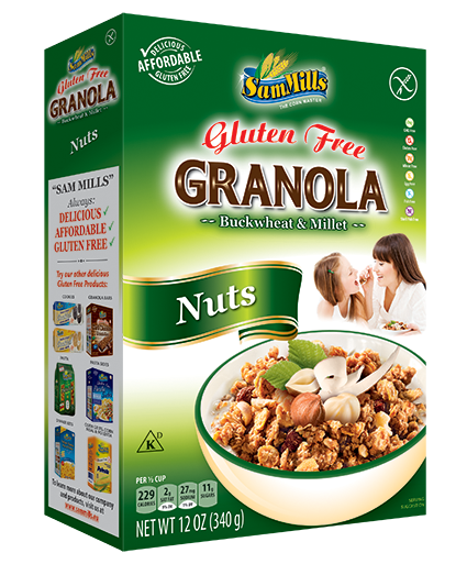 Granola SM Nuts 300 Products Line