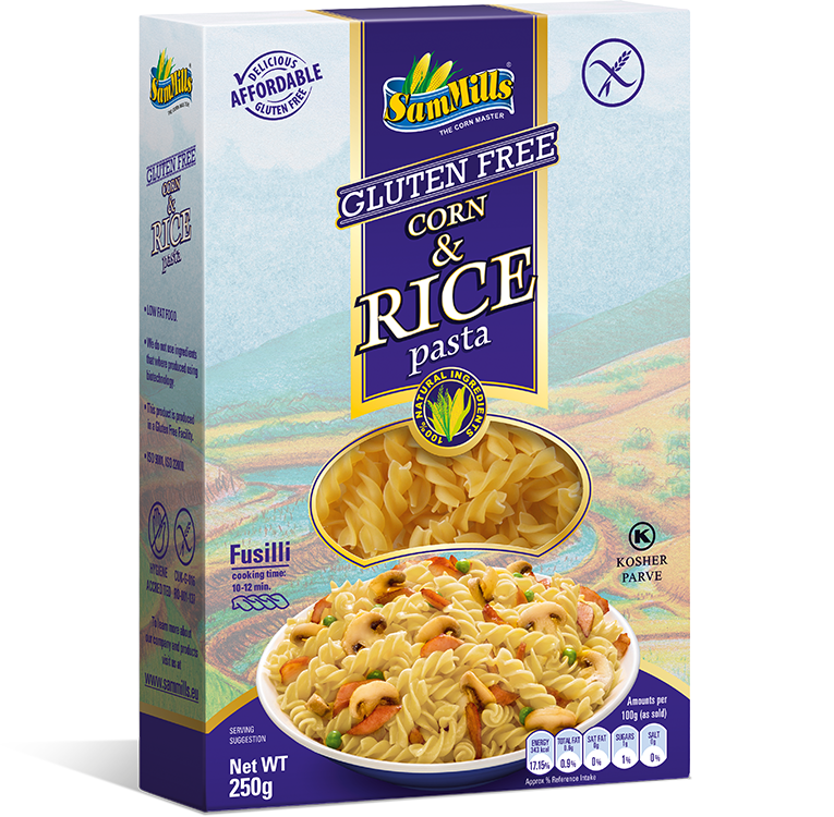 3D Rice fusilli EU2 Products Line