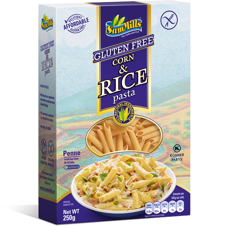 3D Rice penne EU1 Products Line